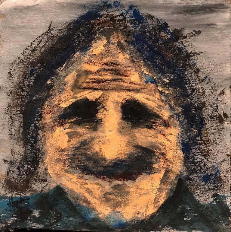 Self-Portrait Ribbon of Darkness